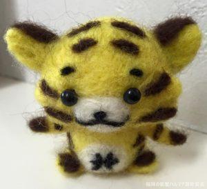 福岡の質屋ハルマチ原町質店のマスコット「虎の子」