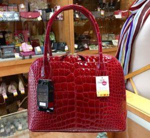 美しいクロコのバッグなら!福岡の質屋ハルマチ原町質店