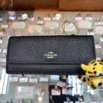 本日のお勧めはコーチのシンプルな長財布です♪福岡の質屋ハルマチ原町質店