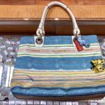 本日のお勧めはコーチの涼しげなバッグです♪福岡の質屋ハルマチ原町質店