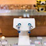 本日のお勧めはK14WGのイヤリングです♪福岡の質屋ハルマチ原町質店